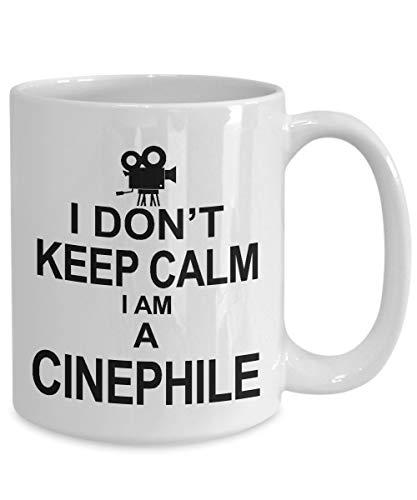 Taza de café cinéfilo, regalo de película Buff regalos de película Freak, taza de cinéfilo, regalos cinéfilo
