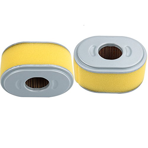 Dalom GX200 Air Filter with Pre Cleaner for Honda GX160 GX 200 GX140 Engine Lawn Mower 17210-ZE1-505 (Pack of 2)
