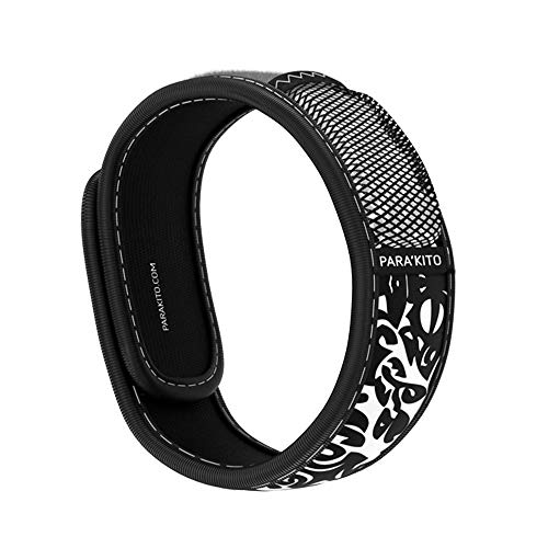 PARA'KITO Mosquito Insect & Bug Repellent Wristband - Waterproof, Outdoor Pest Repeller Bracelet w/ Natural Essential Oils (Maori)