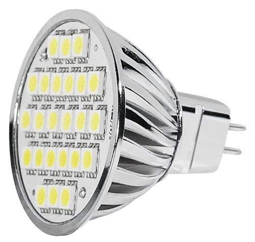 Transmedia LP7-5CL Power SMD Spot LED 12 V 5 W GU5,3 Blanc Froid