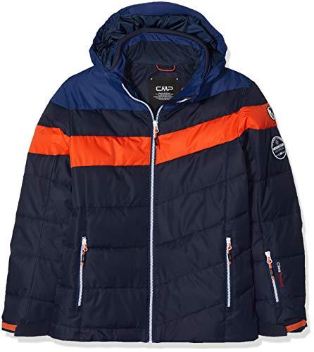 CMP Jungen Jacke Skijacke, Black Blue, 164, 38W0314