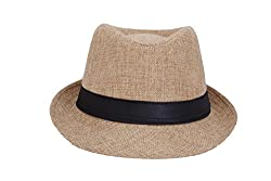 InnovationTheStore Mens Fedora Hat HM16beige