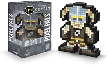 PDPPixel Pals The Elder Scrolls V: Skyrim Dragonborn Collectible Lighted Figure-Not Machine Specific;