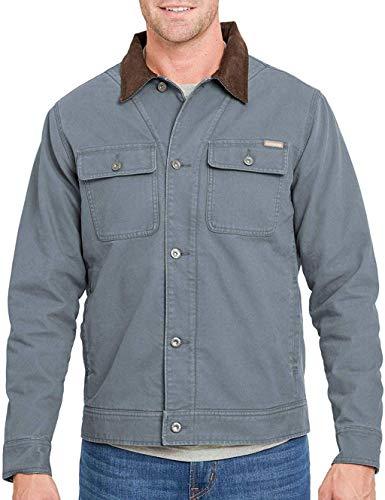Woolrich Men's The Drifter Jacket (Slate, X-Large)