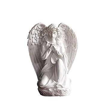 wsmart Guardian Angel Statue Desk Shelf Table Living Room Bedroom Decor Figurines Blessing Men Women Friends Gifts