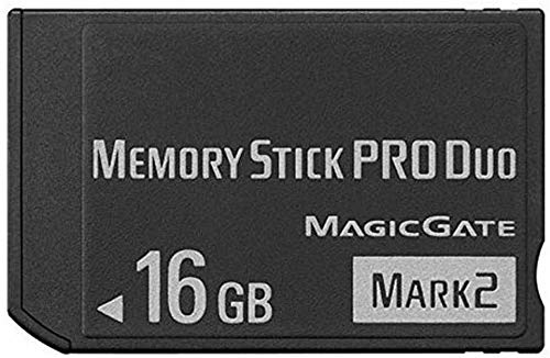 16GB Memory Stick PRO Duo for Sony Camera, PSP 1000 2000 3000 Accessories