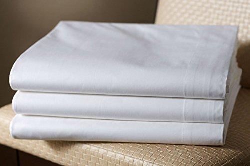 Glattes Bettlaken, geeignet für Massage-Liegen, in verschiedenen Größen erhältlich. 240 x 290 cm weiß