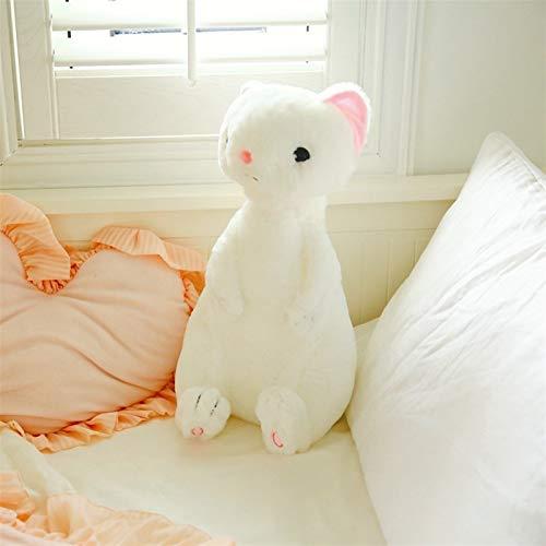 Peluche relleno suave 1 unid 50 cm dulce hurón peluche juguete suave relleno de dibujos animados animal hurón muñecas dormitorio decoración del hogar juguetes juguetes niños niñas navidad rega