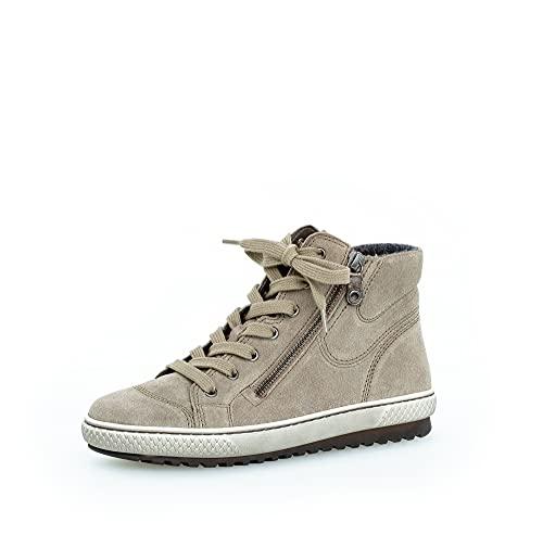 Gabor Damen High-Top Sneaker, Frauen Sneaker high,Lady,Ladies,Halbschuhe,straßenschuhe,Strassenschuhe,Sportschuhe,Salbei/antiksilber,35 EU / 2.5 UK