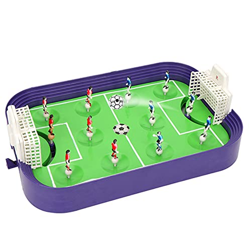 ZMIN Juguete Deportivo de Escritorio Interactivo de fútbol de Mesa para niños Arcade Game Finger Battle Football Board Board Juego