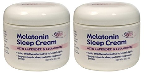 Miracle Plus Melatonin Sleep Cream,…