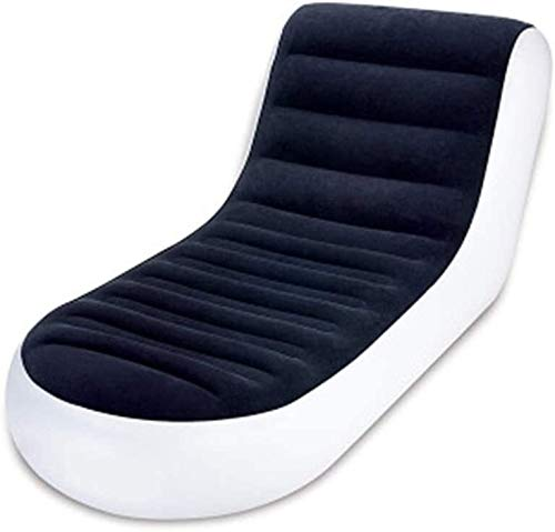 Massaal opblaasbare sofa Deluxe Lounger Opblaasbare Zon Sofa Camping Relax Chair Foot Rest Kruk Leisure slaapbanken lunchpauze zetel leilims
