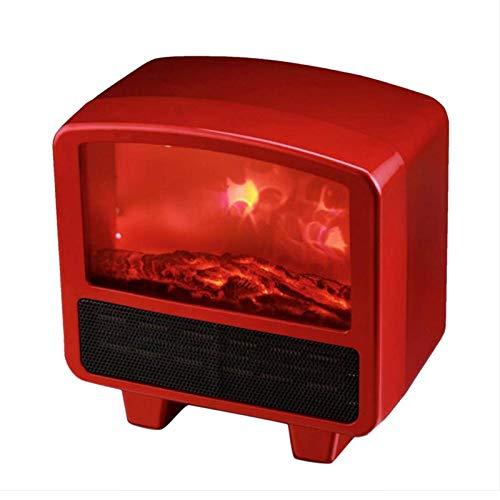 JoinBuy.R Elektrischer Kamin, Infrarot-Heizung, freistehender Kamin-Ofen mit realistischem tanzendem Flammeneffekt mit 3 Heizstufen, leise, sofortiges Aufwärmen, Überhitzungs- und Umkippschutz