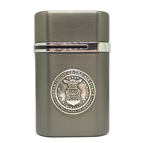 US Air Force Vector Thundra Desktop Lighter Triple Torch Cigar Lighter – Cigar Cutters by Jim