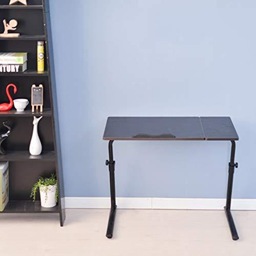 SUMBITOD Medizinische Beistelltische, kippbarer Laptoptisch, höhenverstellbarer mobiler Tisch, für Bett Sofa Krankenhaus Krankenpflege Lesen Essen (Color : D)