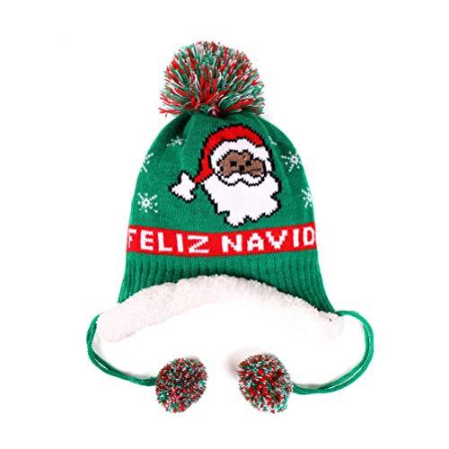 Gorro de Navidad para niños, diseño de muñeco de nieve, de Papá Noel, para Navidad, Año Nuevo, festivo, suministros de fiesta