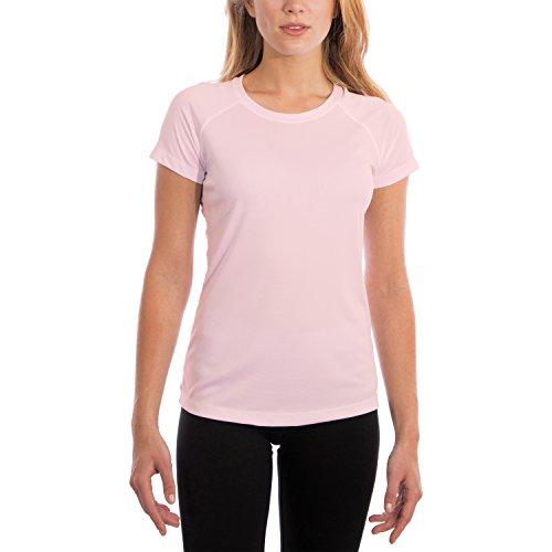 Vapor Apparel Dames ademend UPF 50+ UV zonwering korte mouwen functie T-shirt