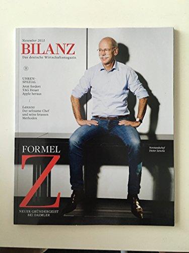 BILANZ : Das deutsche Wirtschaftsmagazin. November 2015