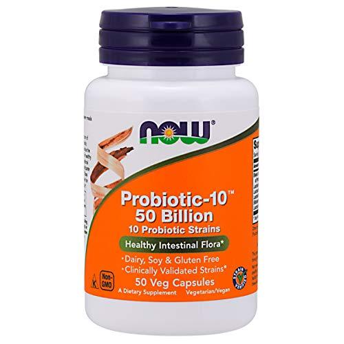 PROBIOTIC-10 50 BILLION Probiótico (50 VCAPS) Now Foods