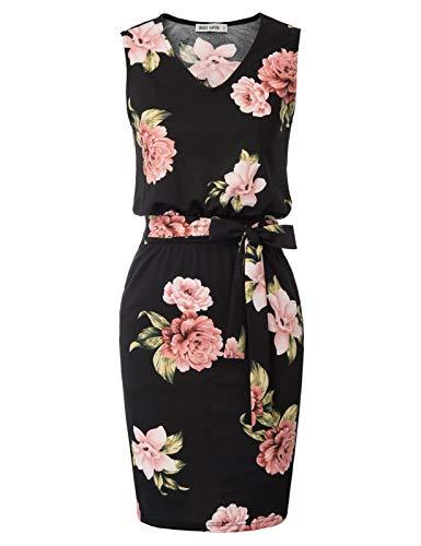 GRACE KARIN bleistiftkleid Rockabilly Business Kleid festlich etuikleid CL2338-4 2XL
