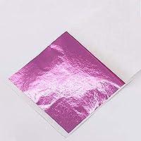 10個ゴールデンシルバーエポキシ樹脂モールドDIY3D薄いネイルステッカーホイル樹脂モールドミラーカラー紙DIYシリコーンモールド充填-5