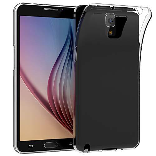 JETech Hülle für Samsung Galaxy Note 3, Durchsichtig Tasche Schutzhülle Stoßdämpfung, Transparent