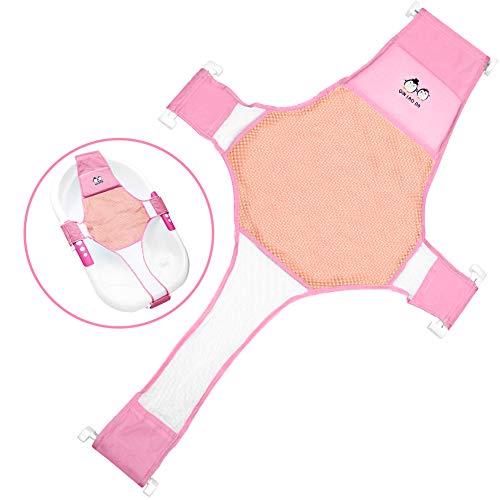 StillCool Badewannensitz Baby Schätzchen neugeboren Sicherheitsbadesitz Unterstützung Babyparty, Rosa