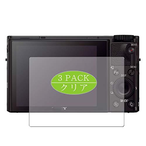 Vaxson 3 pellicole protettive compatibili con Sony Cyber-shot DSC-RX100M3, protezione schermo senza bolle [non in vetro temperato]