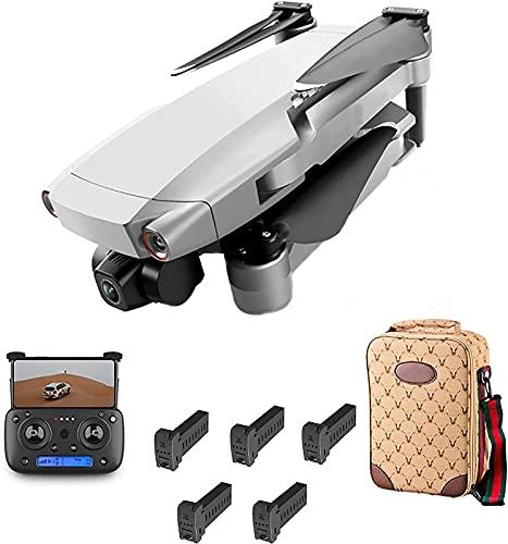 J-Clock Drone RC Pieghevole, Drone GPS RC con Fotocamera 8K 3Axis Gimbal Motore Senza spazzole 5G WiFi Posizionamento del Flusso Ottico Quadcopter 28 Minuti Volo