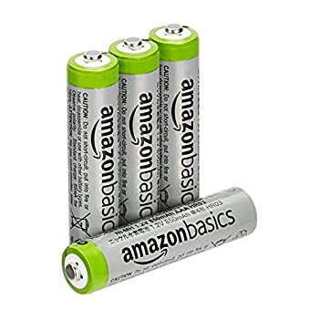Amazon Basics AAA High-Capacity Rechargeable Batteries 4-Pack