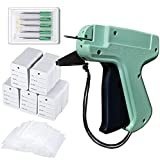 Tagging Gun for Clothing, Retail Price Tag Attacher with 1000 Barbs Fasteners, 5 Needles, 500 Clothing Labels for Boutique Store, Warehouse, Consignment, Garage, Yard Sale