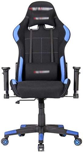 LIUBINGER Chair E-Sports Videogiochi Sedia ergonomica Mobili Computer Confortevole Schienale Alto Stile Racing 70X70X125CM di Lavoro
