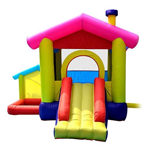 Warm Inflatable Castle Slide Trampoline Naughty Castle Children's Playground Equipment Trampoline 320 * 285 * 243Cm,320 * 285 * 243cm
