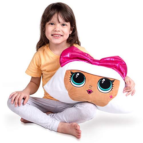 Franco Kids Bedding Super Soft Plush Snuggle Cuddle Pillow, One Size, LOL Surprise Diva
