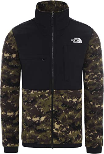 THE NORTH FACE Denali 2 Fleecejacke Herren Oliv/schwarz, M