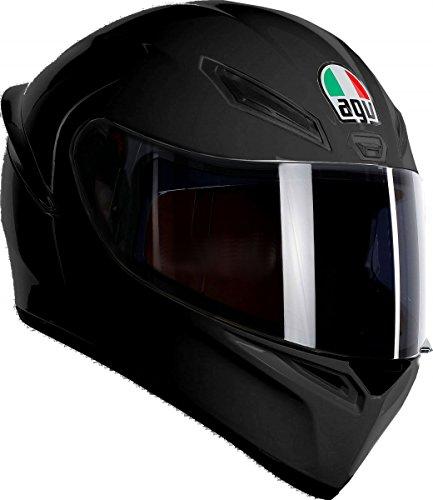 Casco Moto Visera Negra Marca AGV