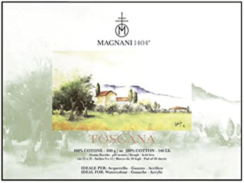 Magnani 1404 Block Aquarell Toscana 23 x 31 cm B01BTVXZMI  | Mittel Preis