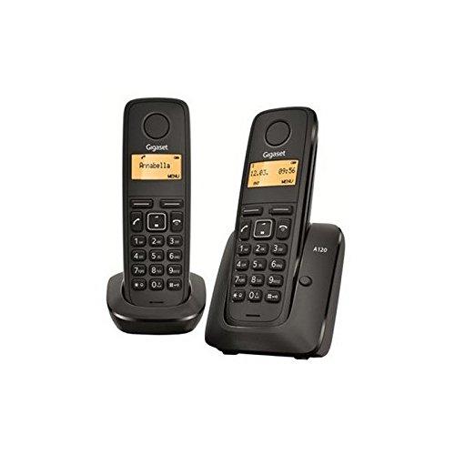 Siemens Gigaset A120 Duo Teléfono Inalámbrico: Amazon.es: Electrónica