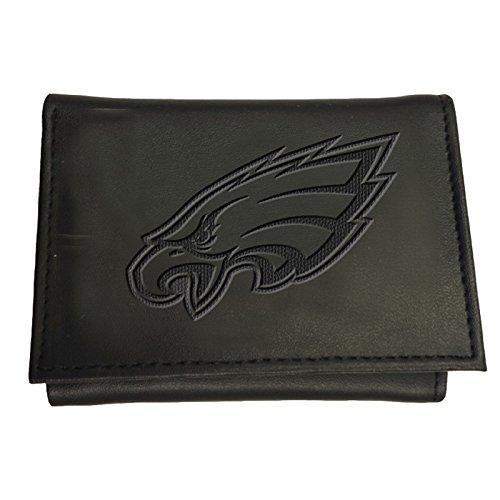NFL Philadelphia Eagles 7WLTT3823BWallet, Tri-Fold, Philadelphia Eagles, Black