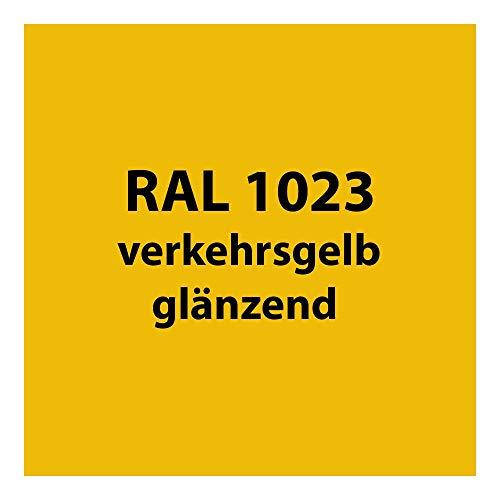 Tupflack 50 ml * viele verschiedene Farben * (RAL 1023 verkehrs-gelb glänzend)