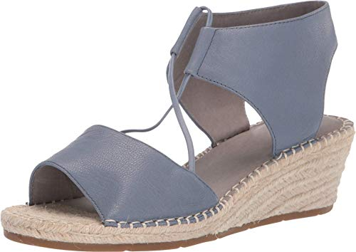 Eileen Fisher Agnes Periwinkle Tumbled Leather 11 B (M)