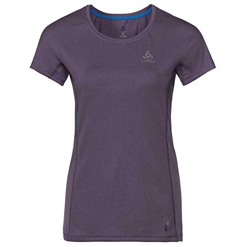 Odlo 312331 T-Shirt à Manches Courtes Femme Vintage Violet FR : XS (Taille Fabricant : XS)