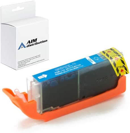 AIM Compatible Replacement for Canon CLI-271C Cyan High Yield Inkjet (715 Page Yield) - Generic