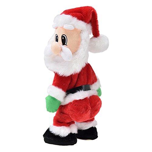 en.casaTwerking Weihnachtsmann - Nikolaus Tanzend Twerkend Weihnachtsdekoration