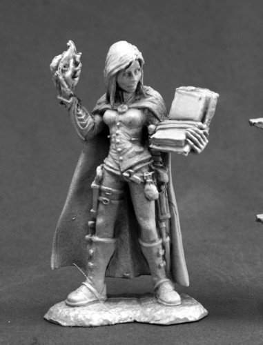 Reaper Nonalla Ellinad, Female Elf Wizard 03667 Miniatures 3