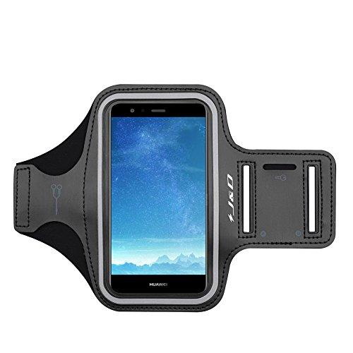 JD Compatible para Huawei P10 Lite/Honor 8S 2020/Honor 20E Brazalete, Brazalete Deportivo para Huawei P10 Lite, Ranura para Llaves, Conexión Auriculares Mientras Ejercicios y Carreras