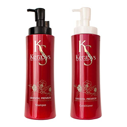 Aekyung Kerasys Oriental Premium Shampoo(600ML) and Conditioner (600ML) sets