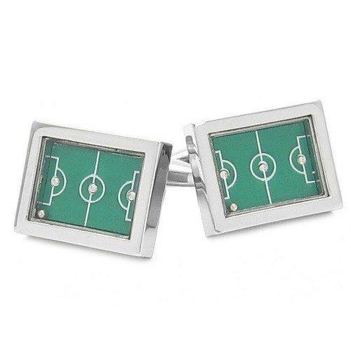 Funcional Juego Campo de fútbol Pinball gemelos + caja y limpiador