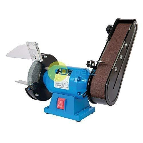 dapetz 240W smerigliatrice da banco & levigatrice a nastro combinazione smerigliatura abrasivo Workshop