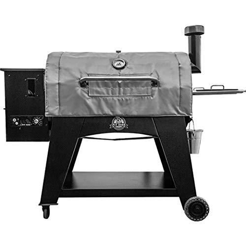 Pit Boss 67344 Isolierdecke für Grills der Serie 1100, grau